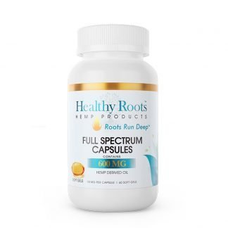 Healthy Roots Hemp CBD Softgel Capsules